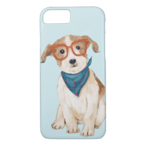 Jack Russell Terrier (Background Colour Editable) iPhone 8/7 Case