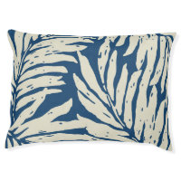 Kahanu Garden Hawaiian Palm Leaves Dog Bed