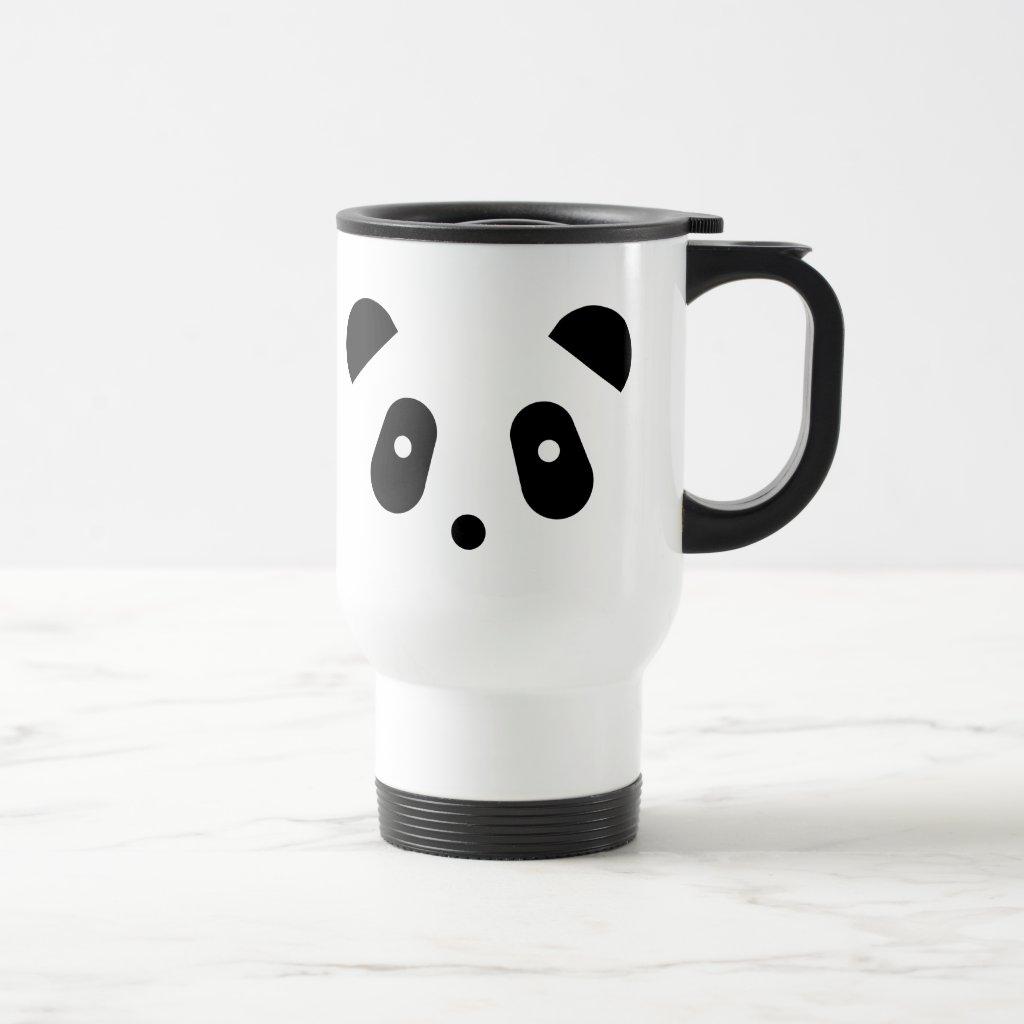 Kawaii ~ Cute Panda Face Travel Mug