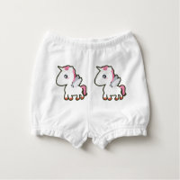 Kawaii Unicorn Nappy Cover