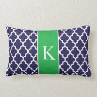 Moroccan Custom Monogram Pillow
