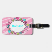 Kids Luggage Backpack Tag Luggage Tag