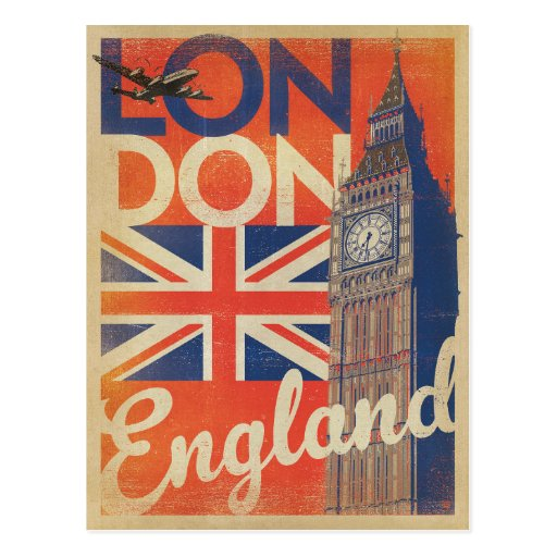 London, England Postcard