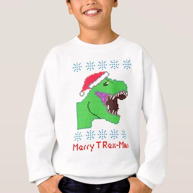 """Merry T Rex-Mas"" Christmas Festive Dinosaur"
