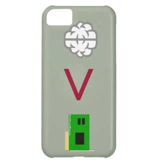 Mind over Technology iPhone 5C Cover