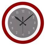 Modern Kitchen Wall Clocks Zazzle Co Uk