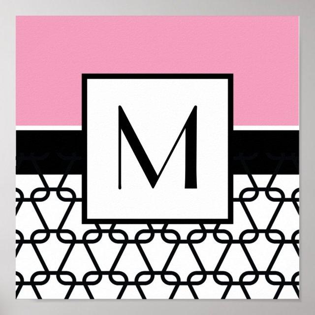 Monogram Wall Art