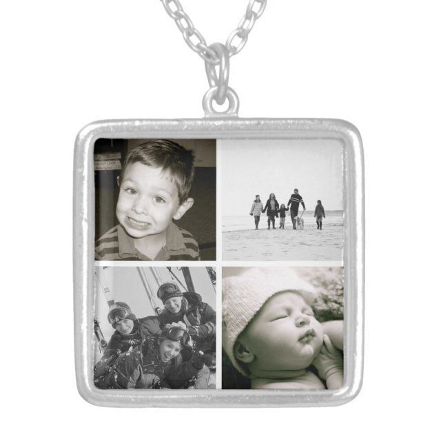 Photo Collage Necklace