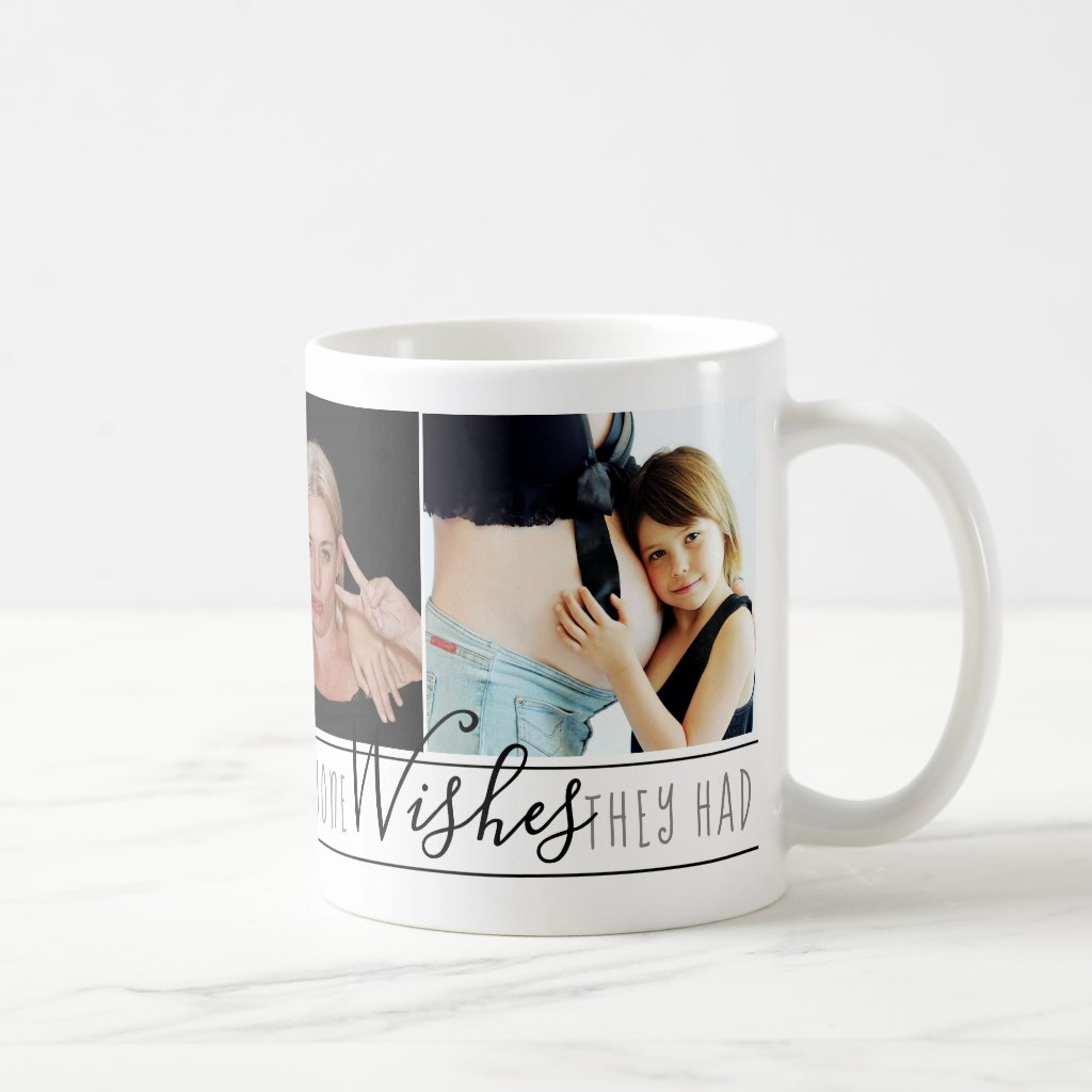 Mum Everyone Wants | Chic Black White Quote Photos Coffee Mug