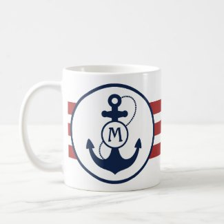 Nautical Anchor Mug