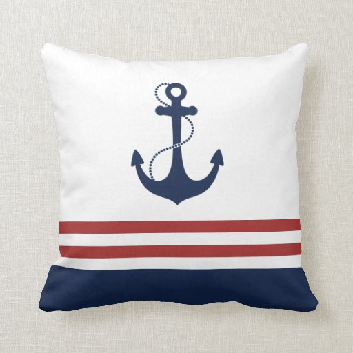 Nautical Anchor Cushion