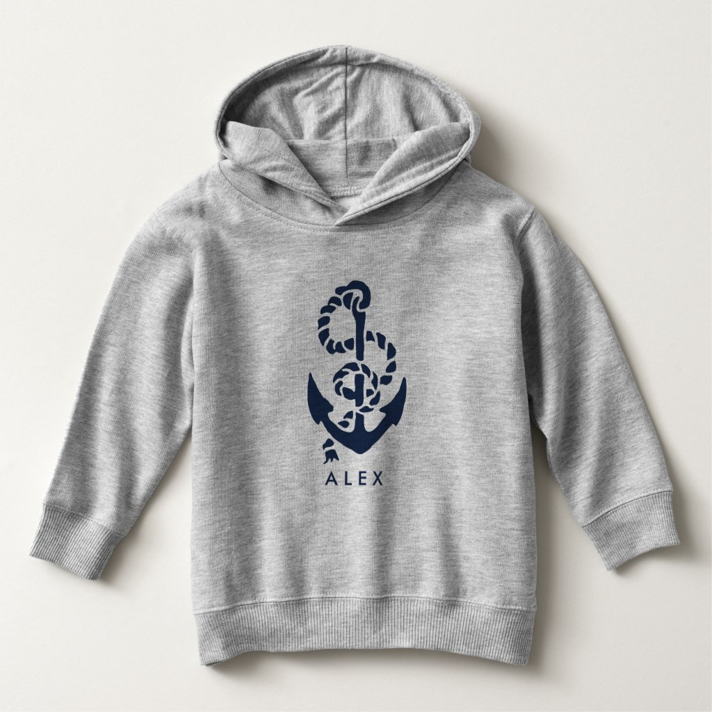 Nautical Navy Anchor Personalised