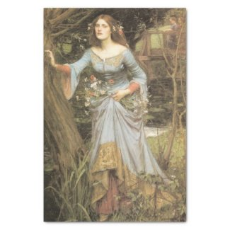 Ophelia decoupage paper