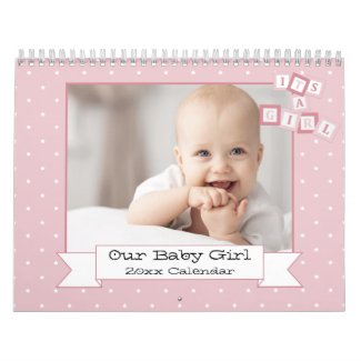 Our Baby Girl Custom Photo