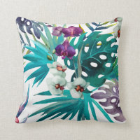 Painted Tropical Cushions