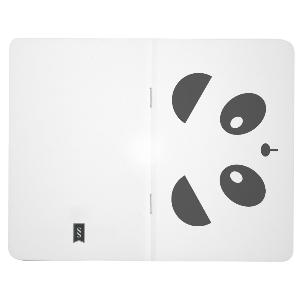 Panda Face Journal