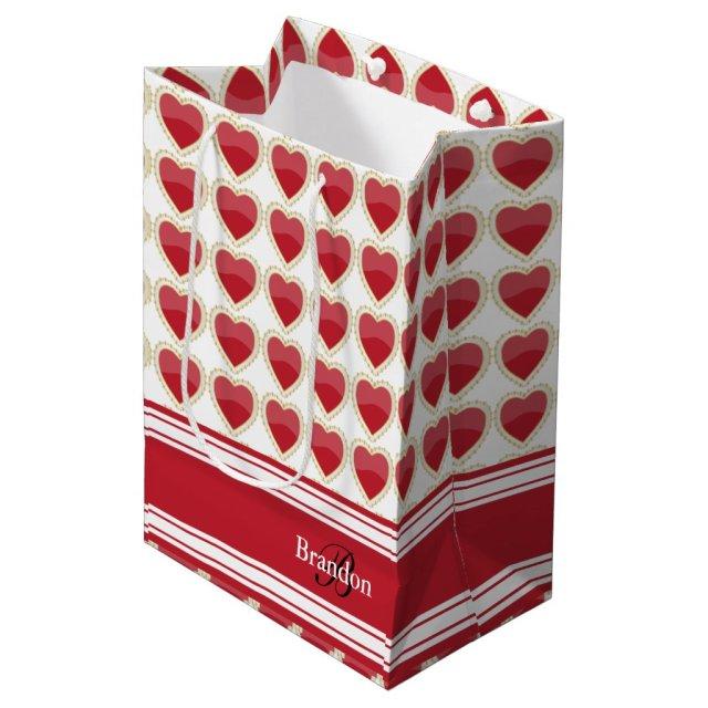 Personalised Valentine Gift Bag
