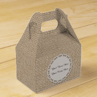Personalise Gable Favor Box