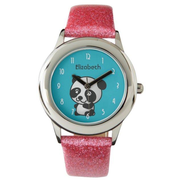 Personalised Panda Bear Watch