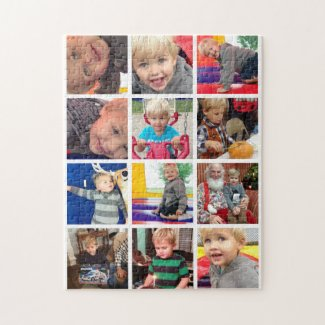Personalised Family Photo Collage Puzzle