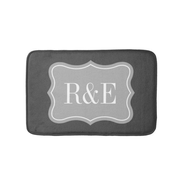 Personalised Monogram Bath Mat