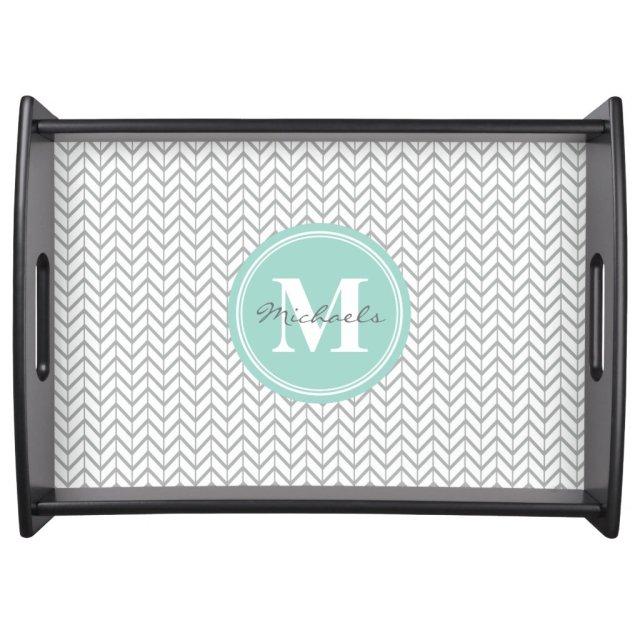 Personalised Monogram Serving Tray