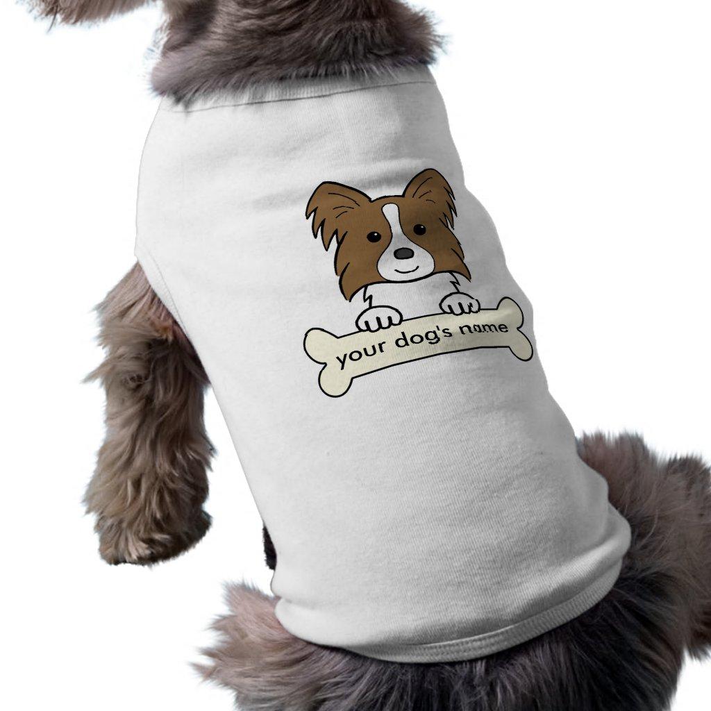 Personalised Papillon Shirt