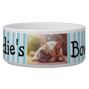 Personalised Photo Dog Bowl