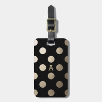 Personalized | Luxe Dots Travel Bag Tag