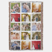 Photo Collage Gift Blanket