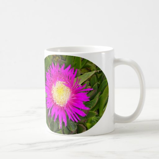 Pink Flower Mug by IreneDesign2011