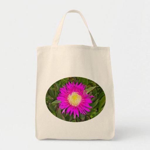 Pink Flower Tote Bag by IreneDesign2011