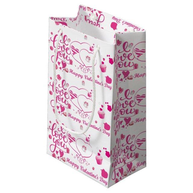 Pink Valentine's Gift Bag