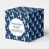 Plane pattern ı Baby shower party box