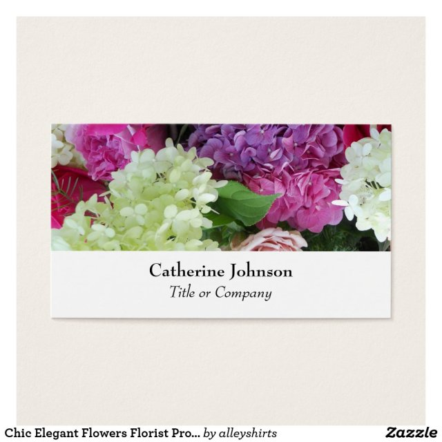 Florist Professional Business Card