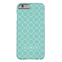 Pattern Monogram iPhone Case