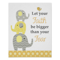 Quotation wall art for nursery and kids rooms