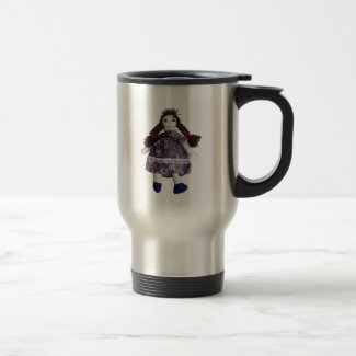 Rag Doll Travel Mug