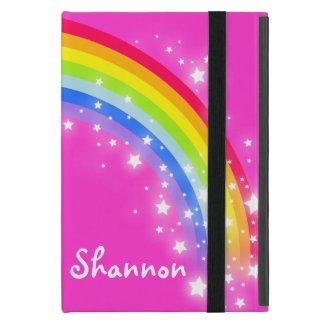 Rainbow kids ipad mini case