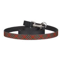 Royal Stewart Red, Blue, and Green Scottish Tartan Dog Lead