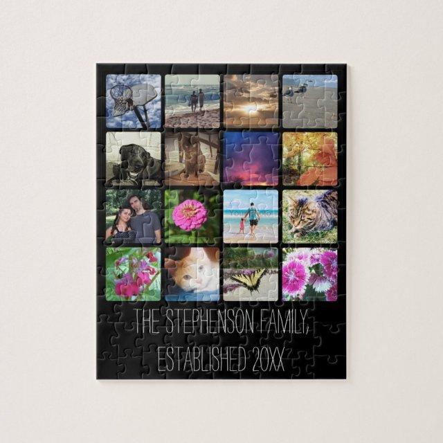 Photo Collage Puzzle