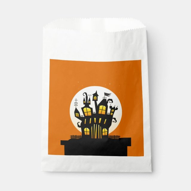 Stop On By Halloween Favour Bags