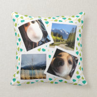 Instagram Photos Throw Pillow