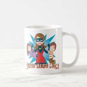 Super Hero Mum Coffee Mug