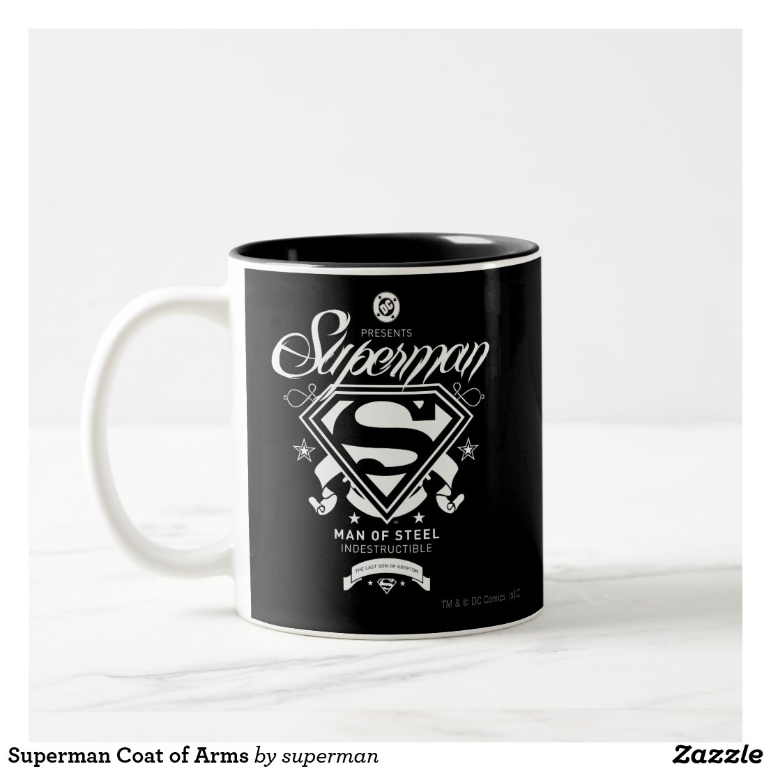 Superman Coat of Arms Mug