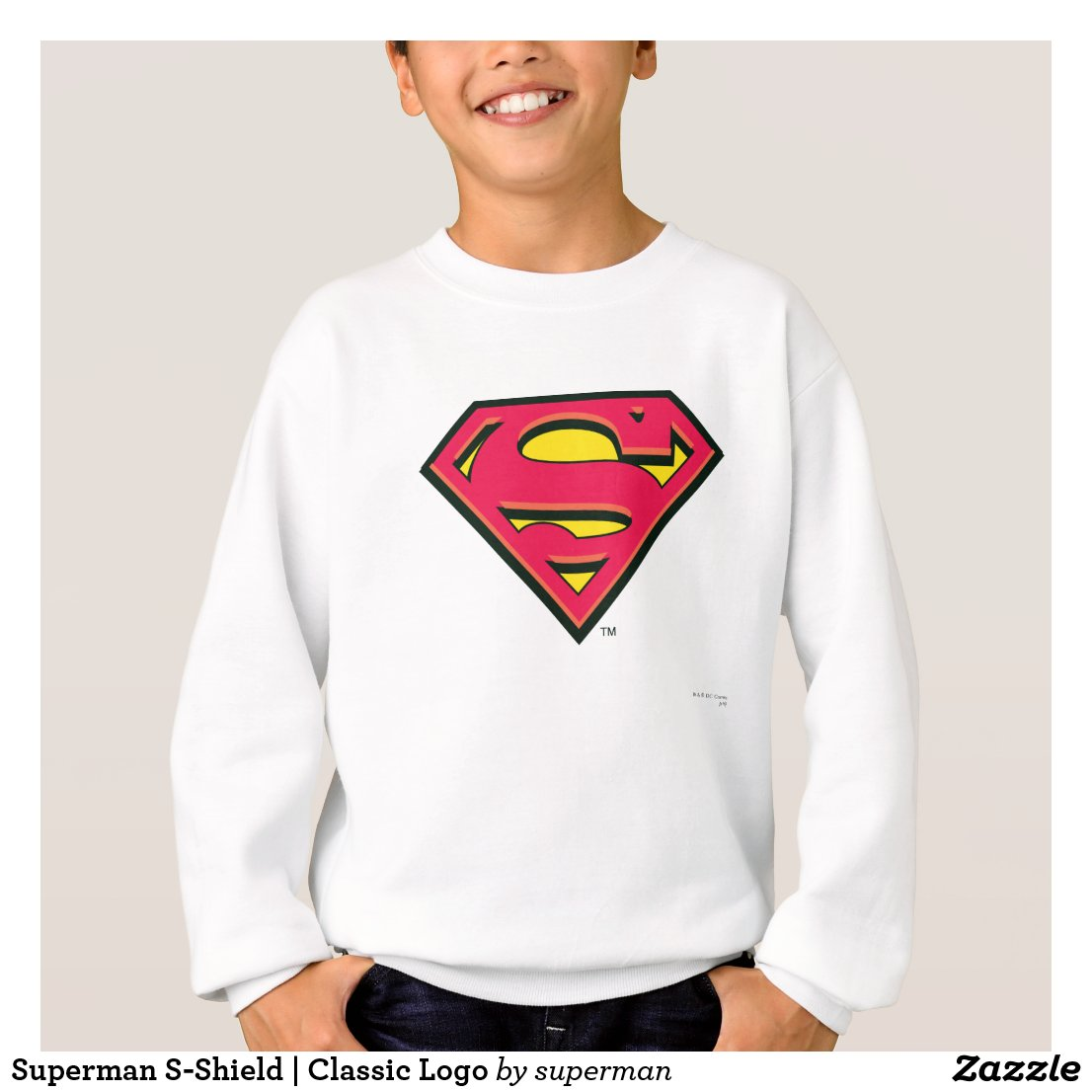 Superman S-Shield | Classic Logo Sweatshirt