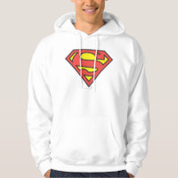 Superman S-Shield | Superman Logo Hooded Pullover