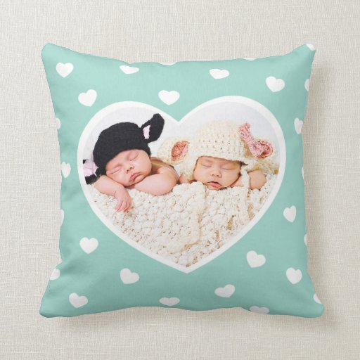 Sweet Hearts Photo Cushion