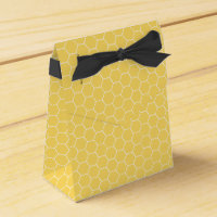 Honeycomb Pattern Favor Boxes