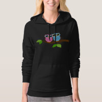 Sweet Romantic Owls Hoody